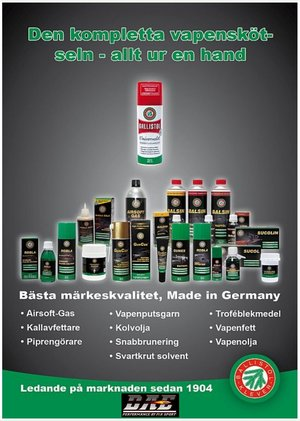 BALLISTOL Robla Black Powder Solvent, Spray
