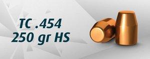 "HN .45 LC TC .454"" /250 Grain TC HS , 500 st"