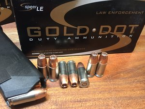 Speer® Law Enforcment Gold Dot® 9x19 Duty Ammunition