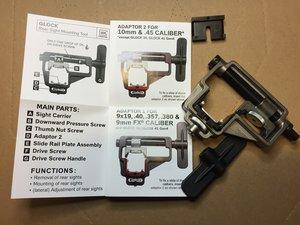 Glock Siktesverktyg / Rear Sight Tool