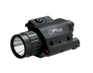 Sun Optics Vapenlampa GRÖN LED 750 Lumen / Laser RÖD