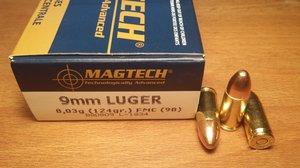 Magtech 9B, 9x19, 124 Grain, 50 ptr