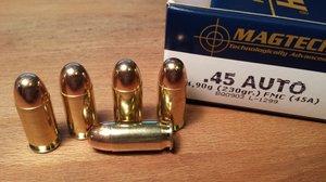 Magtech 45A, .45 ACP, FMJ 50 ptr