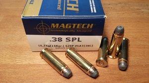 Magtech 38C .38 SPL, SJSP-FLAT 50 ptr