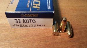 Magtech 32A .32 ACP FMC 50 ptr
