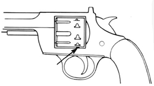 Cylinder Stop Spring S&W Revolver