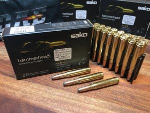 SAKO 8x57 IS ammunition