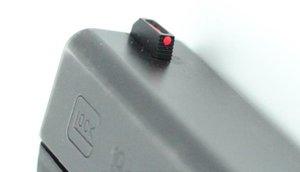 EDC Fiber Front / Black Rear Sight