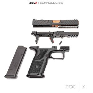 ZEV Optimized Barrel G17 Gen1-4, BRZ