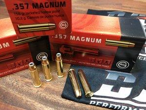 GECO .357 Magnum 158 Grain JHP, 50 ptr