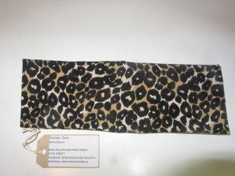 Leopard pannband