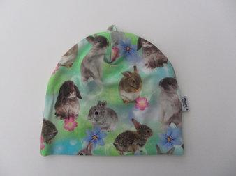 Kaniner o blommor