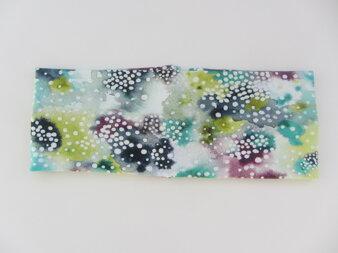 Pannband färgglad med prickar