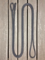 Lead rope with loop and back splice - 10 mm