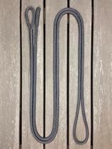 Ledrep med ögla och ändsplits - 10 mm