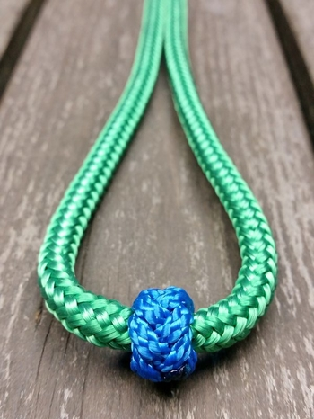 Long loop reins with rope connectors - 6 mm