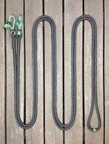 Long loop reins with rope connectors - 10 mm