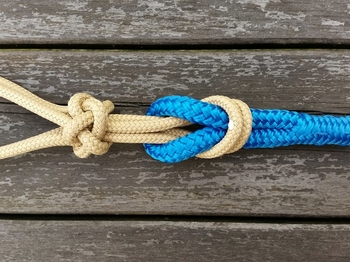 Lead rope with loop and end knot - 10 mm