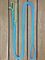 Ledrep med repfäste och repsnärt - 10 mm