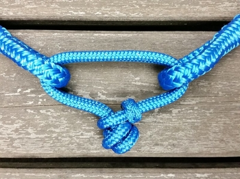 Rope connector for neck ropes