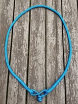 Neck rope with rope connector