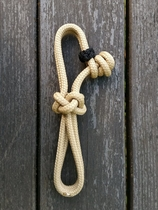Rope connector for rope halters