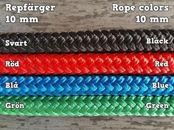 10 mm rep på metervara