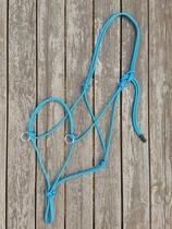 Sidepullrepgrimma med ringar - X-full, Blå
