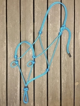 Sidepull rope halter with loops