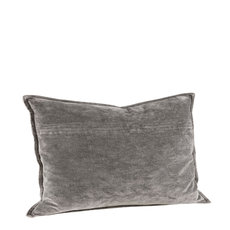 KELLY PLAIN GREY Cushioncover