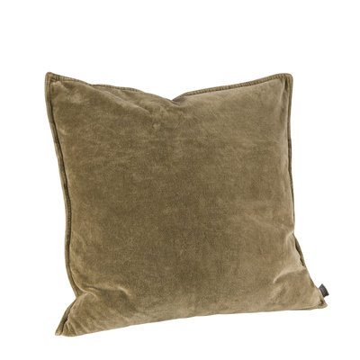 KELLY PLAIN OLIVE Cushioncover