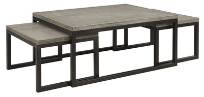 TOSHU 3-S Coffee table Grey