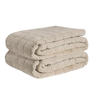 POSH BEIGE Bedspread