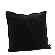 KELLY PLAIN BLACK Cushioncover