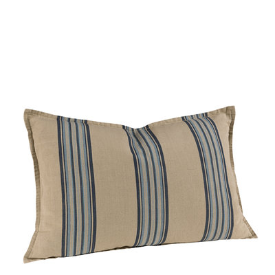 CECILE BLUE STRIPE Cushioncover (DISCONTINUED)