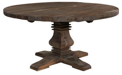 SALVAGE Round Dining table (2 sizes)