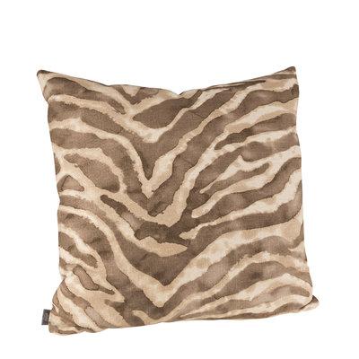 JUNGLE CAT CHOCOLATE Cushioncover