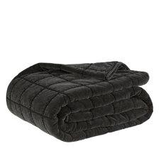 POSH WASHED BLACK Bedspread