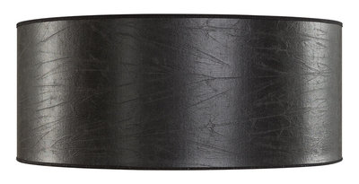 SHADE CYLINDER Leather Black