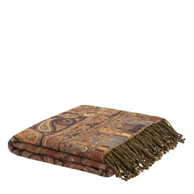 EROZ PAISLEY OCHER Throw