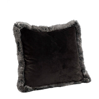 LEIA STRIPE GREY VELBOA Cushioncover