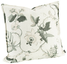 MABELLE OFFWHITE/GREEN Cushioncover
