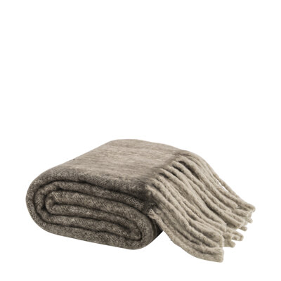 COSY TAUPE Throw