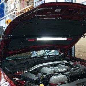 Motorhuv- och innerbelysning med 120 SMD LEDs