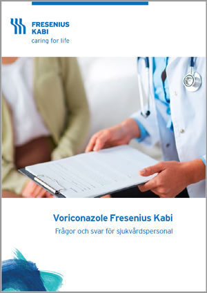 Frågor och svar för sjukvårdspersonal gällande Voriconazole Fresenius Kabi