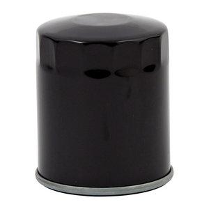 Svart oljefilter 84-98 Softail, L84-14 XL, 08-12 XR 1200