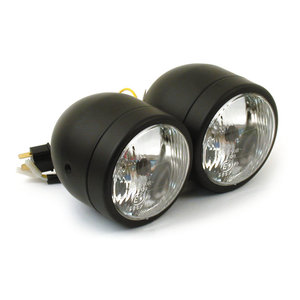 Dubbla framlampor