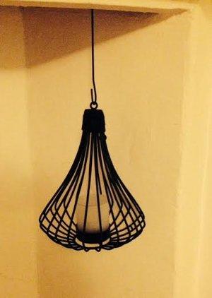 Ljuslykta i smide från D Design