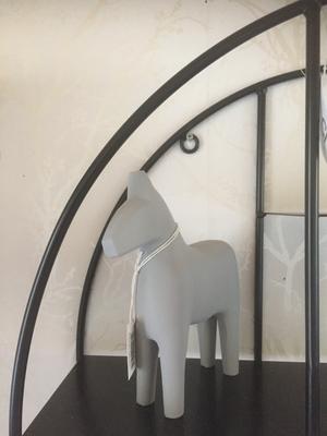 Dalahäst,grå från Storefactory