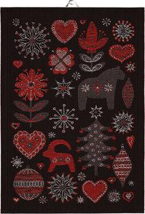 """Handduk""""Julnatt"""" från Ekelunds"""